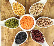 Lentils, Beans & Pulses - 100% Natural & Organic - Buy Whole