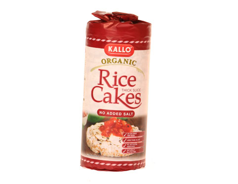 Substituting Rice Cakes For Bread